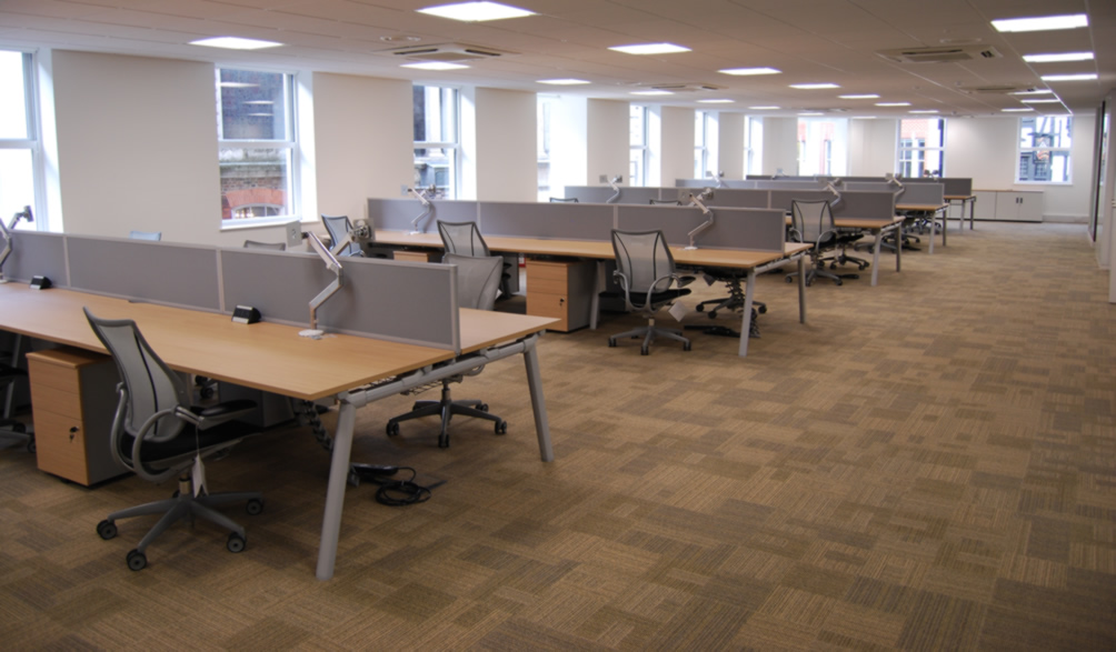 Home commercial refurbishment solutions ltd for Office refurbishment